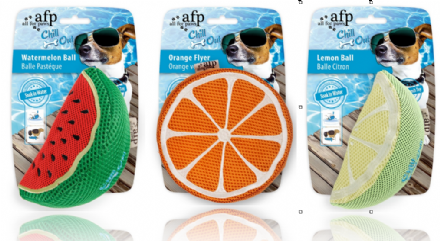 All For Paws Chill Out fruit dog toy